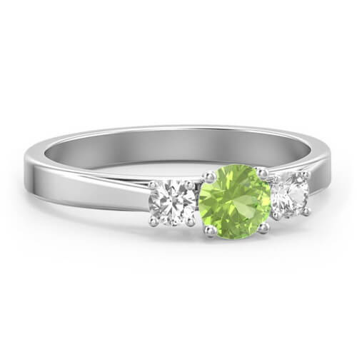 Three Stone Eternity Ring