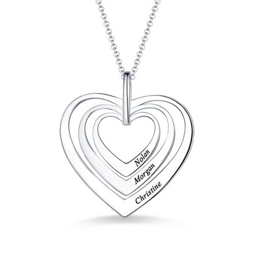 Family Hearts necklace